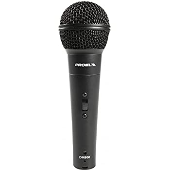 RHM Unidirectional Dynamic Microphone with 10ft Cord for Singing,Vocal Handheld Microphone for Karaoke,Speech,Wedding