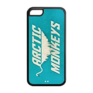 5C Phone Cases, Arctic Monkeys Hard Cover Case for iPhone 5C Designed by HnW Accessories