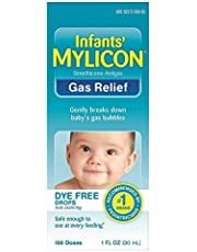 Mylicon Infants' Gas Relief Dye Free Drops - 1 oz, Pack of 4