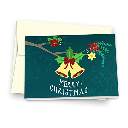 Christmas Cards Greeting Cards, Pop Up Cards, 3D Greeting Card (Green) Photo #8