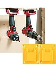 Fast elektriskt verktygsfäste 2st Elektrisk verktygshållare svart/röd/gul, för Milwaukee M18 18V / 20V elektrisk borr, hårdvarudelar