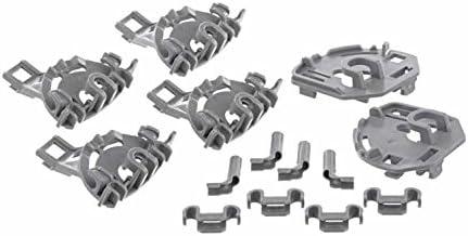 Cojinetes para soportes abatibles de cestos en lavavajillas Bosch, Siemens, Balay, Atag, Gaggenau, Kleenmaid, Küppersbusch, Neff