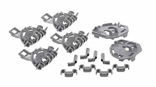 Cojinetes para soportes abatibles de cestos en lavavajillas Bosch ...
