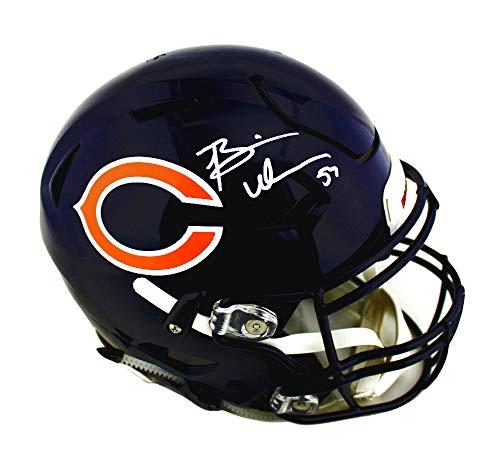 (Brian Urlacher Autographed/Signed Chicago Bears Speed Flex Authentic Helmet)