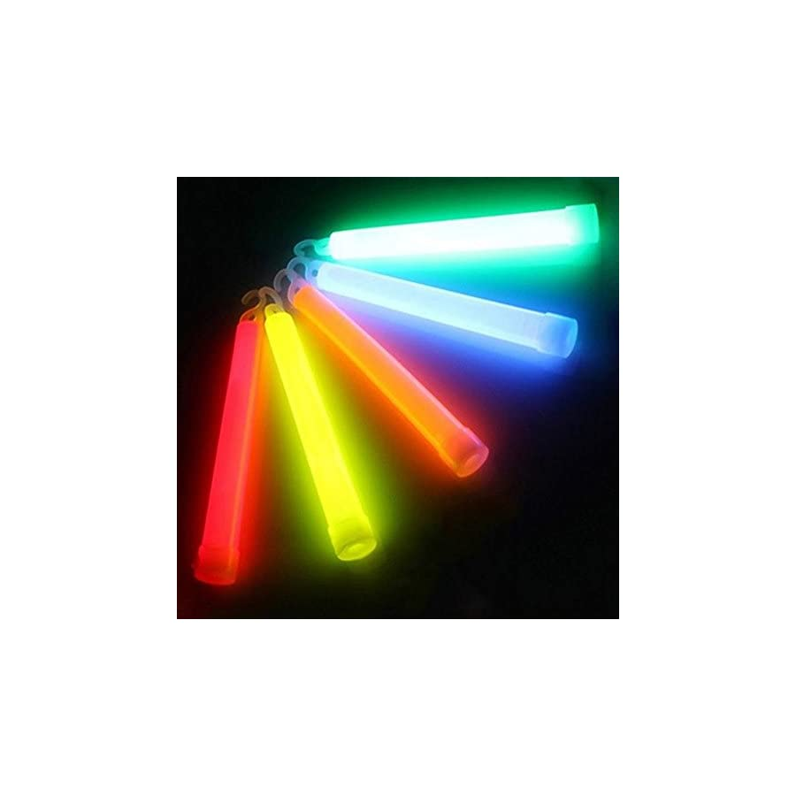 """Meanhoo 6"""" Snap Light Military Grade Emergency Survival camping,hiking&outdoor Glow Light Sticks Party Fun Safety 3 Pcs"""