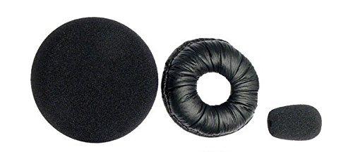 BlueParrott 202182 Replacement Ear/Mic Cushion Kit, 3 Pcs. for B250 Series Headsets