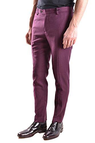 Daniele Alessandrini Homme MCBI086520O Bordeaux Polyester Pantalon