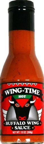 Sauce Wing Buffalo Hot 13 OZ -Pack Of 6