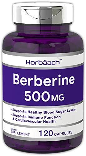 Horbaach Berberine Capsules Non GMO Supplement product image