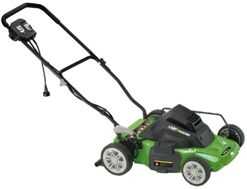 Earthwise 50214 14 Inch 8 Amp Side Discharge Mulching Electric Lawn Mower