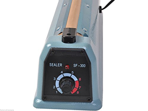 Super buy 12'' Heat Sealing Hand Impulse Sealer Machine Poly Free Element Grip& Teflon by Goplus (Image #8)