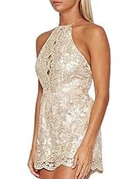 Vestidos Satinados De Fiesta Sexys Cortos Ropa De Moda Para Mujer y Noche Elegante Casuales VE0053