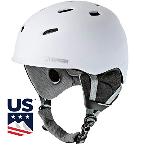 Drift Snowboard & Ski Helmet- US Ski Team Official Supplier - For Men, Women & Youth - Unparalleled Style, Performance & Safety w/ Active Ventilation. Official Snow Helmet of Olympian Ashley Caldwell.