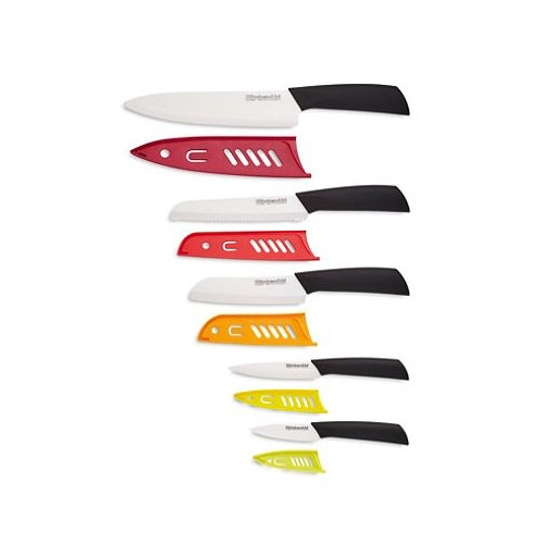Kitchenaid 10 Piece Ceramic Cutlery Set Knives