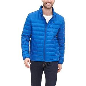 Tommy Hilfiger Men's Lightweight Water Resistant Packable Down Puffer Jacket (Regular and Big & Tall)