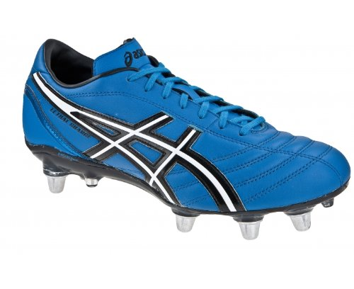 Rugby Charge Botas de ASICS Negro Caballero Azul Lethal I7PS5w