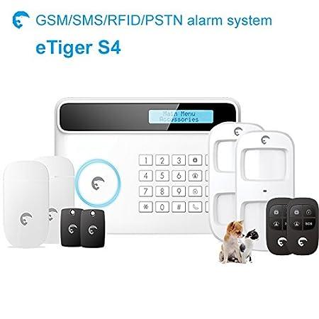 ETIGER S4 allarme per ANIMALI domestici, Sistema di allarme di ...
