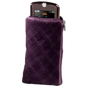 Hama Naturelle - fundas para teléfonos móviles (65 x 25 x 115 mm) Púrpura