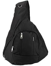 Everest Shoulder Sling Backpack Messenger Bag Black
