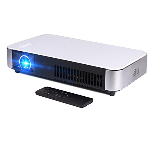 Mini portable led projector hd 3d dlp smart home theater for Bluetooth projector for iphone 6