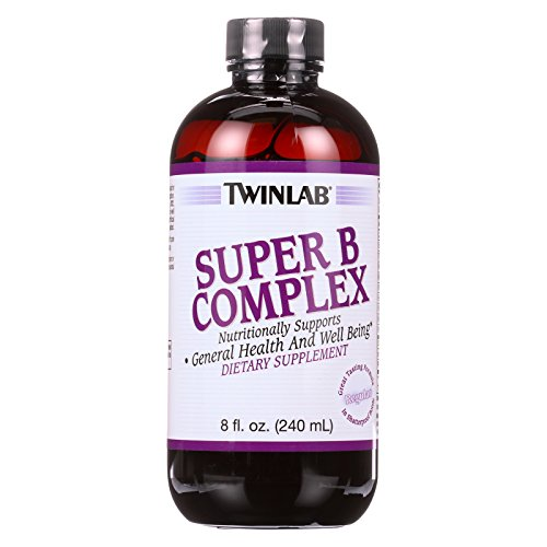 2 Pack of Twinlab Super B Complex - Regular - 8 Fl oz. by Twinlab