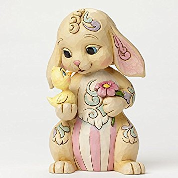 Enesco Jim Shore Rabbit with Chick Figurine for sale  Delivered anywhere in USA