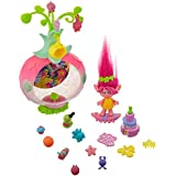 Dreamworks Trolls Sparkle Surprise Party Pod Playset with Color-Changing Poppy Figure, 9 Critters, 8 Accessories & Color-Changing Sticker Sheet (Amazon Exclusive)