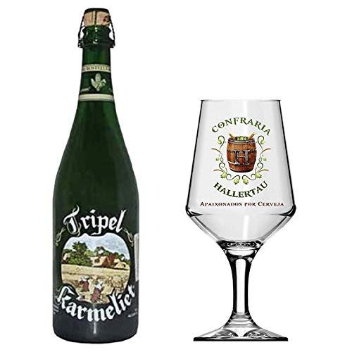 Cerveja Tripel Karmeliet Taça Hallertau