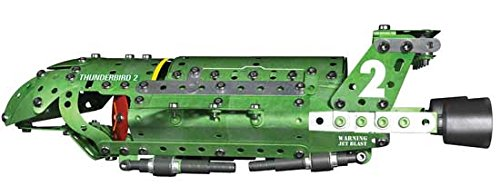 Multicolore Meccano 6027350 Gioco di costruzioni Thunderbirds Lingua inglese