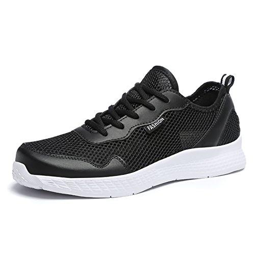3 Interior Running Scarpe all'Aperto 39 Basse Ginnastica Uomo Fitness nero da Sneakers Elaphurus Corsa Casual 48 Sportive wvfqnZAT0x