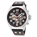 TW Steel Pilot Unisex Quartz Watch with Black Dial