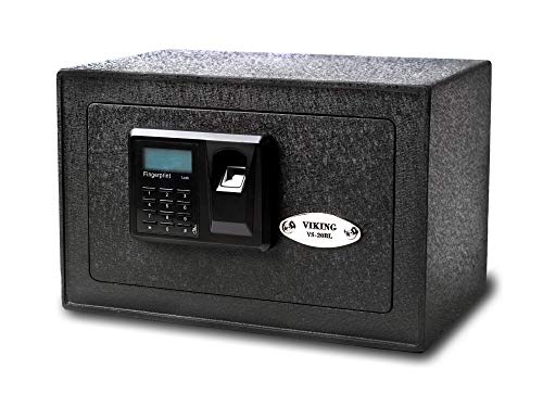 Viking Security Safe VS-20BLX Mini Biometric Safe Fingerprint Safe ()