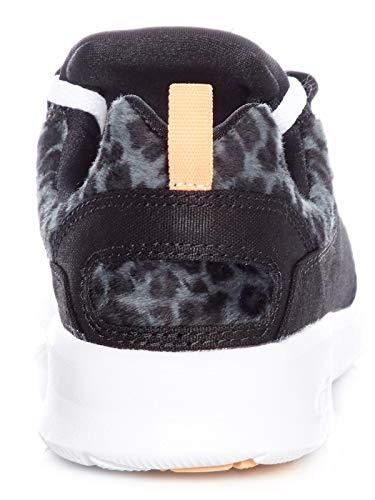 Heathow Black sneaker Dc Se Tx Donna Scarpe leopard wxCAq4