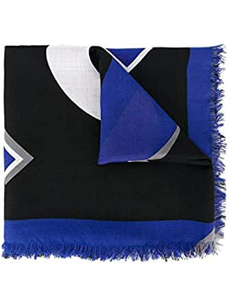 Luxury Fashion | Fendi Mens FXS296S0TF0EF2-MCF Blue Foulard | Season Permanent