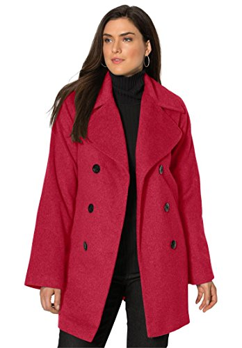 Jessica-London-Womens-Plus-Size-Petite-Classic-Double-Breasted-Wool-Coat