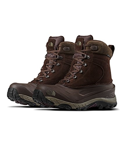 - The North Face Chilkat III Boot - Men's Chocolate Torte/Weimaraner Brown, 9.0