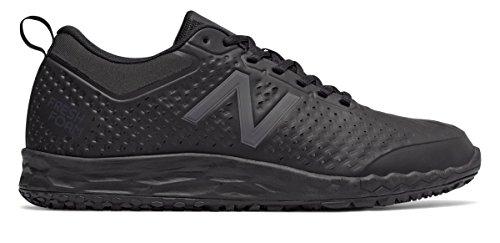 未使用ゴミ飼いならす(ニューバランス) New Balance 靴?シューズ メンズワーク Slip Resistant Fresh Foam 806 Black ブラック US 13 (31cm)