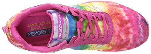 Skechers Flex Appeal 2.0 High Energy - Zapatillas Mujer Rose (Pkmt Rose/Multicouleur)