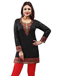 Maple Clothing Indian Kurti Women's Tunic Top Printed Blouse India Clothing
