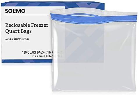 Amazon Brand Solimo Freezer Quart product image