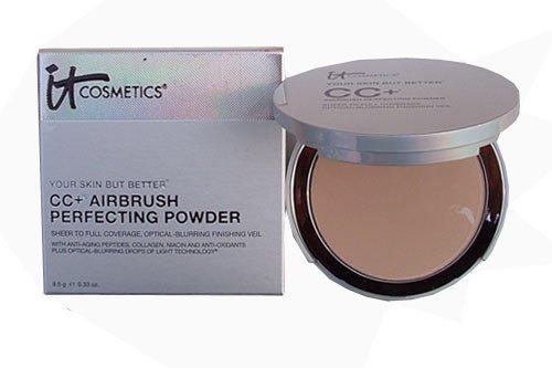 it Cosmetics CC+ Airbrush Perfecting Powder (Medium) by It Cosmetics
