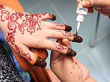 aa72c1a56 Rani Nail Henna Mendi 12 Pcs Box Red: Amazon.ae: BUTTERFLYONLINE