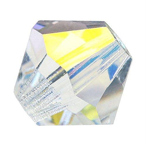 6mm Czech Glass Bicone Beads - 9