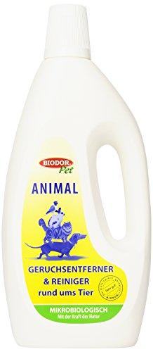 Biodor Animal Geruchsentferner und Reiniger rund ums Tier Konzentrat 1000ml