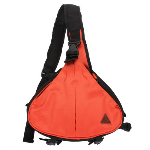 MECO Orange Waterproof DSLR Camera Shoulder Carry Case Bag for Canon EOS Nikon Sony Olympus