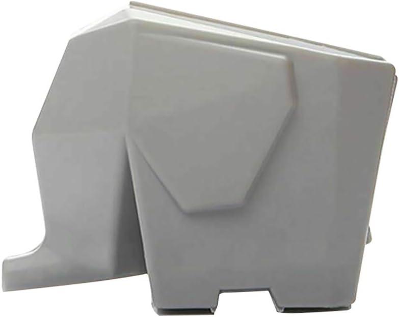 Escurreplatos para cubiertos con dise/ño de elefante blanco Yuhai