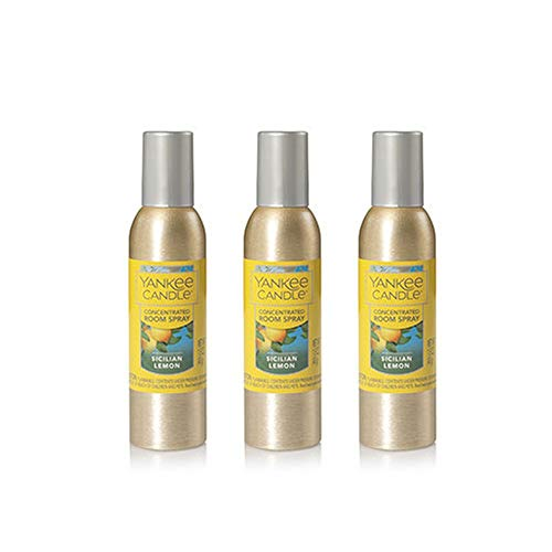 Yankee Candle Concentrated Room Spray 3-PACK (Sicilian Lemon)