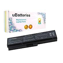 UBatteries Laptop Battery Toshiba Satellite L650-03E - 6 Cell, 4400mAh