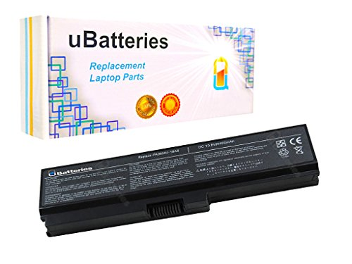 UBatteries Compatible 48Whr Battery Replacement For Toshiba Satellite P740 P745 P745D P750 P750D P755 P755D P770 P770D P775 P775D U500 U505 Fits Part# PA3817U-1BAS PA3634U-1BAS - 4400mAh by UBatteries