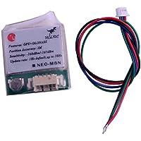 Geekstory U-G8030-KT GPS Receiver Module Compatible with NEO-M8N for Betaflight Flight Control APM Pixhawk CC3D Naze32 Aircraft